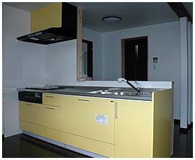 対面型システムキッチン