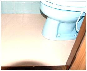 段差が無くなったトイレの床