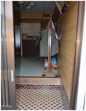 廊下とトイレ床の段差