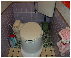 年数の経過で使い勝手が悪いトイレ